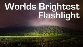 1000W LED Flashlight Is Super Bright