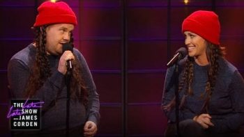 Alanis Morissette Sings An Updated Version Of 'Ironic' With James Corden