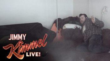 Jimmy Kimmel Helps Prank His Writer's Roommate Who Believes In Ghosts
