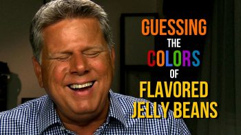 Blind Man Guesses Colors Of Jelly Beans