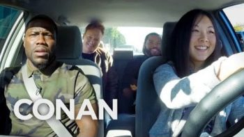 Ice Cube, Kevin Hart, And Conan Help A Student Driver