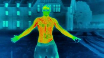 Thermal Camera Shows How Quickly You Lose Heat Out In Cold Temperatures