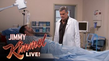 George Clooney And Jimmy Kimmel Recreate E.R.