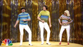 Jimmy Fallon, Will Ferrell, Christina Aguilera Do The Tight Pants Dance