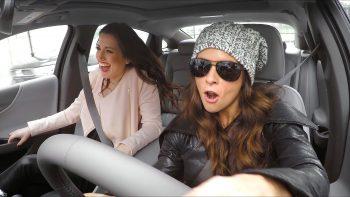 Race Car Driver Danica Patrick Drives For Lyft