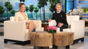 Ronda Rousey Discusses Her UFC Upset Fight With Ellen