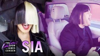 Sia Carpools With James Corden
