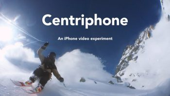 Swinging iPhone Around While Skiing Has Stunning Video Results