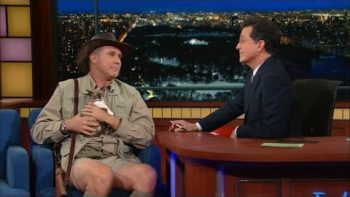 Will Ferrell As An Exotic Animal Expert On Late Show With Stephen Cobert