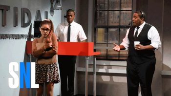 Ariana Grande Covers Famous Pop Stars For Tidal In SNL Sketch