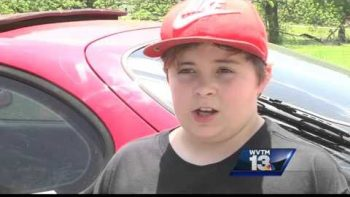 11-year-old Protects His Home Against Intruder