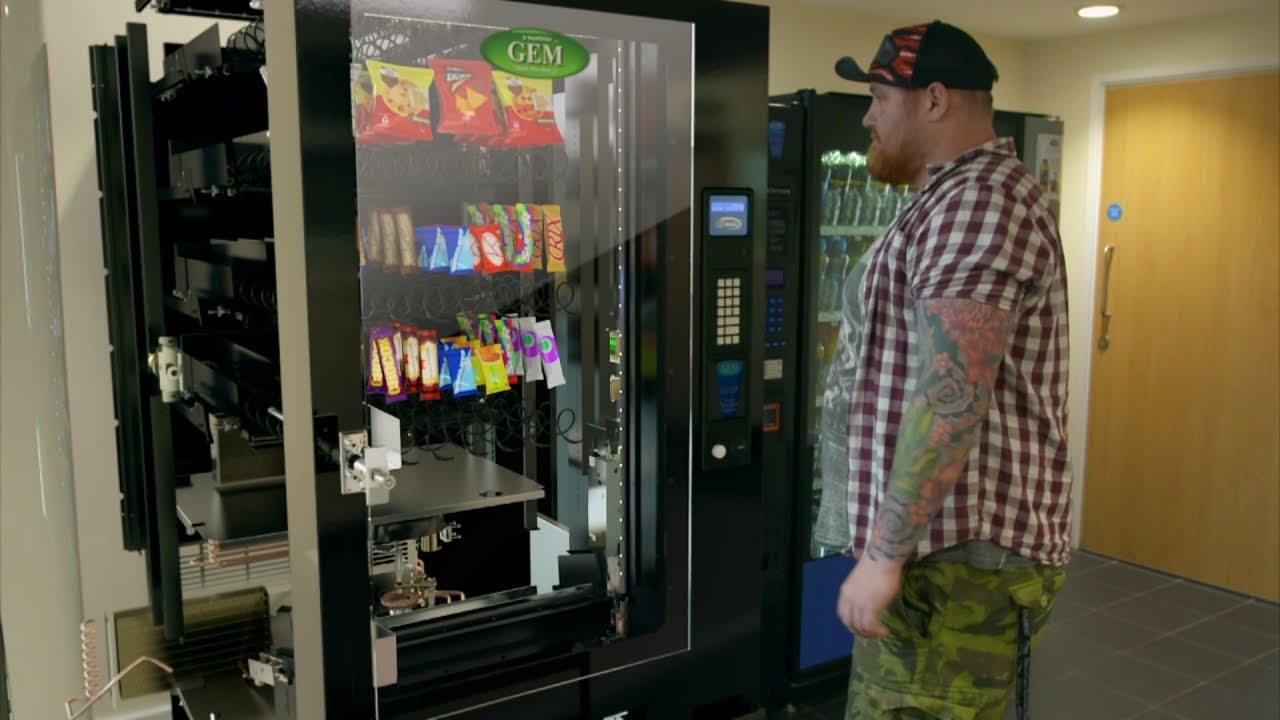 how much is a vending machine