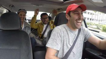 Pranking Friend As Fake Uber Driver