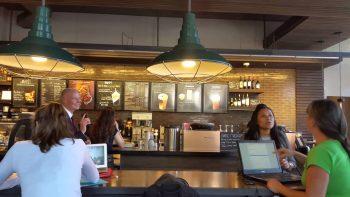Woman Screams At Governor Rick Scott At Starbucks