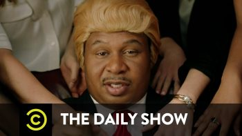 Black Donald Trump Stars In They Love Me Music Video