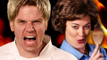 Gordon Ramsay VS Julia Child Epic Rap Battle