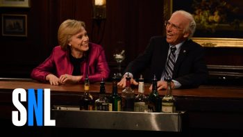 Hillary And Bernie Reminisce About Their Campaigns At A Bar