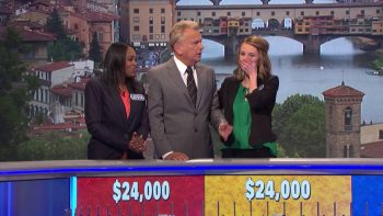 Players Have A Rare Tie On Wheel Of Fortune