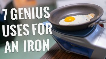 Simple Life Hacks Using An Iron