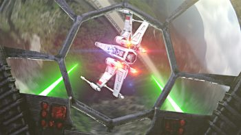 Star Wars Dog Fight Recreated Using Drones