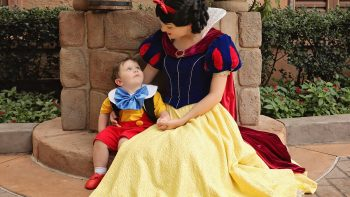 Toddler With Autism Falls In Love With Snow White At Walt Disney World