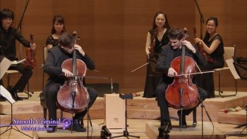 Two Guys Perform Smooth Criminal On Cello