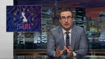 "John Oliver On The ""Brexit"""