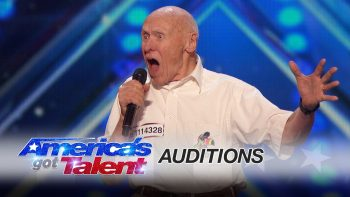 Old Man Shocks All Performing Rock Song 'Bodies' On America's Got Talent