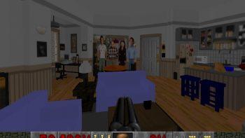 Super Nerd Recreates Seinfeld's Apartment In Doom Engine