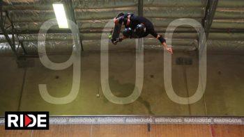 Tony Hawk Lands 900 Skateboard Jump