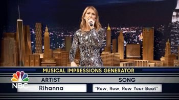 Céline Dion Sings Musical Impressions