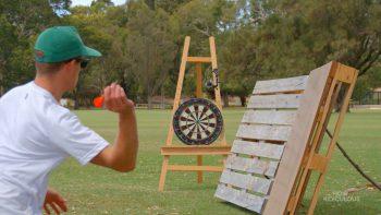 Darts Bullseyes Trick Shots