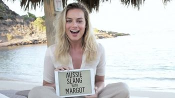 Margot Robbie Defines Australian Slang Terms