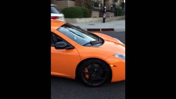 Skateboarder Smashes Windshield Of McLaren After Not Yielding To Pedestrians