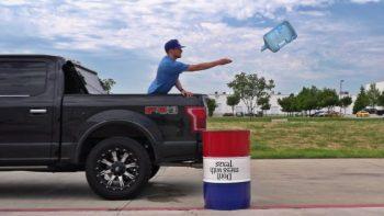 Water Bottle Flipping Trick Shots