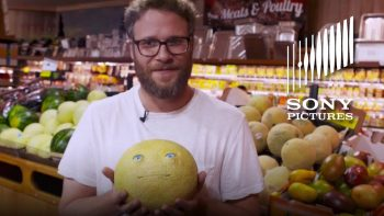 Seth Rogen Pranks Grocery Shoppers With Talking Food