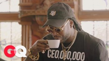 2 Chainz Drinks $600 Coffee (Made from Cat Poop)