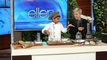 6-Year-Old Chef Kicha Cooks with Ellen DeGeneres