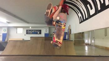 8 year old skateboarder girl shreds like a pro