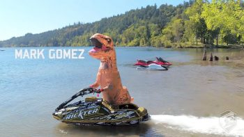 T-Rex Steals Jet Ski And Does Insane Tricks