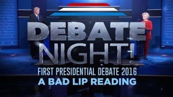 A Bad Lip Reading of the first 2016 Presidential Debate