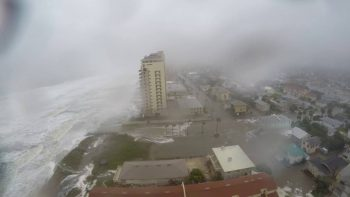 Time Lapse Shows Hurricane Matthew Slam Jacksonville Beach