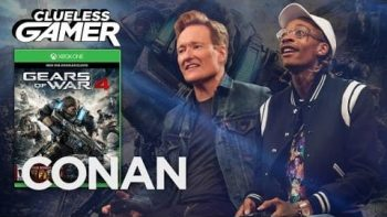Wiz Khalifa Plays Gears Of War 4 With Conan