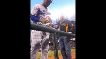 Matt Kemp Gives Disabled Teen His Cap, Jersey, And Shoes After Game