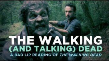 The Walking Dead Bad Lip Reading Spoof