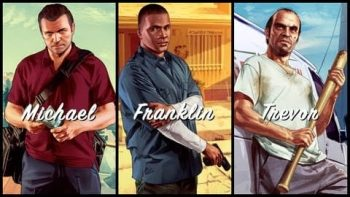 Grand Theft Auto V Michael Franklin Trevor Three In One Trailer