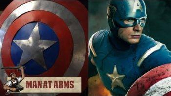 Craftsman Makes Real Replica Of Captain America's Shield