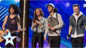 "Luminites Sing ""Hurts So Good"" On Britain's Got Talent 2013"