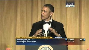President Obama 2013 Speech At White House Correspondents' Dinner