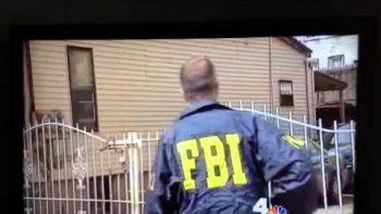 FBI Agent Jumps Open Fence